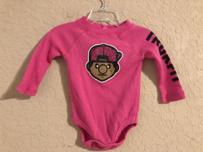 TRUKFIT Boutique Pink Adorable Playsuit Onesie. This Brand Is EXPENSIVE. Size 3 6 Months - FIRM ON PRICE