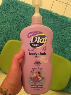 Kids body and hair wash