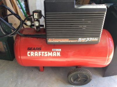 Craftsman 5hp Two Stage Air Compressor