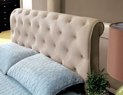 VELVET TUFTED QUEEN BED FREE DELIVERY