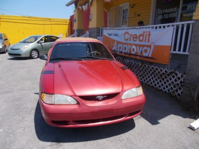 1998 Ford Mustang GT (Laser Red (CC/Met))