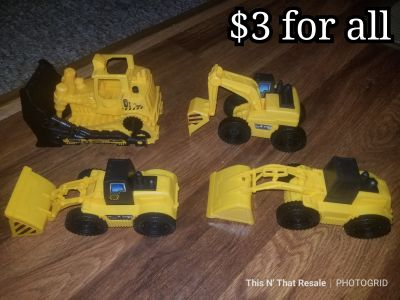 Tractor toy lot