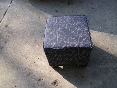 OTTOMAN THAT HAS STORAGE NEVER USED NEW