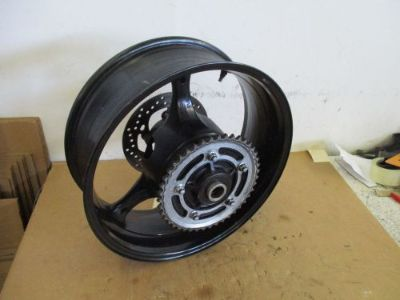 Purchase 07 08 SUZUKI GSXR 1000 REAR WHEEL WITH SPROCKET AND ROTOR GSX-R REAR WHEEL 1000 motorcycle in Stanton, California, United States, for US $200.00