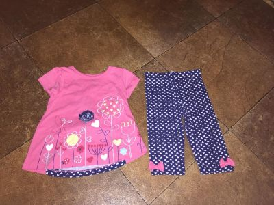 Cute baby girl outfit size 12 months