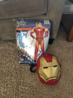 Iron man muscle costume, perfect condition only worn once. $10