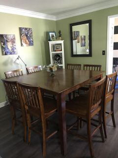 Dining room table that seats 8