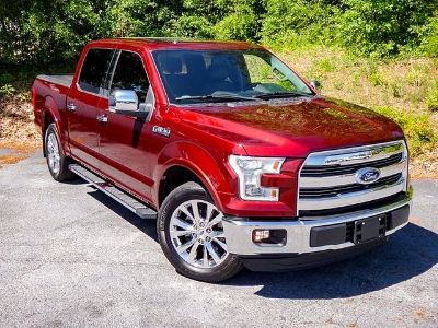 2015 Ford F-150 Lariat Loaded Leather (Bronze Fire Metallic)