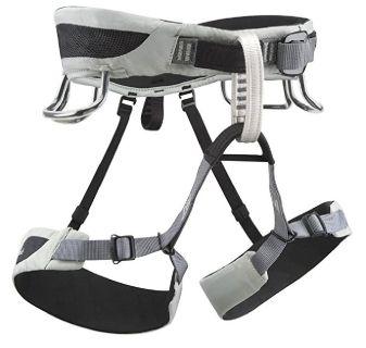 Black Diamond Momentum AL Climbing Harness - Men's (X-Large / Cool Gray)
