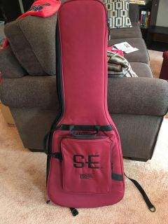 Guitar case(electric)-soft backpack style