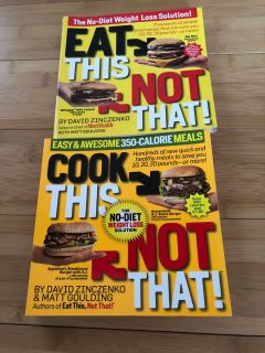 Cook/Eat this not that cook book