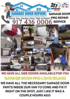 Professional garage door repair and installation service New York & Long Island