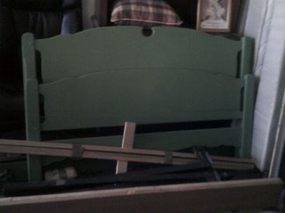 Bed frame, twin size