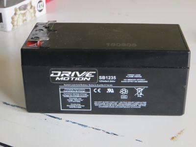 12 volt 3.5 amp lead acid battery