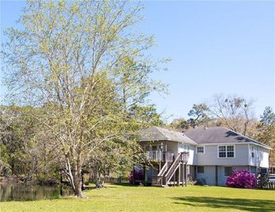 River Front Home with Boat Dock in Foley!