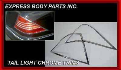 Purchase W219 CHROME TAIL LIGHT CLS500 CLS63 CLS550 MOLDINGS CLS600 CLS TRIMS LINE TRIM motorcycle in North Hollywood, California, US, for US $54.99