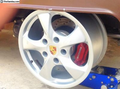 porsche wheels CAN DELIVER TO BULLI