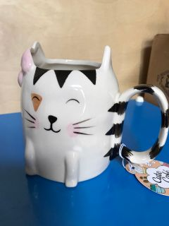 Kitty Girl Mug NWT