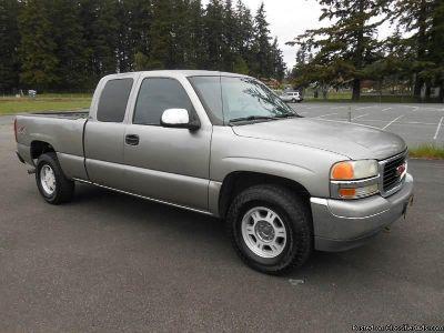 2001 GMC Sierra 1500 Silver Truck