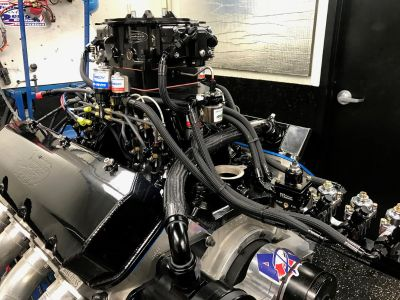 All Aluminum APD 632 NOS Motor