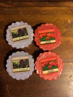 Four new Yankee candle Melts