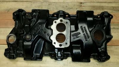 Find Canadian Racing313 cast iron sbc350 chevy intake manifold3916313 2bbl brl barrel motorcycle in Danbury, Connecticut, United States, for US $289.00