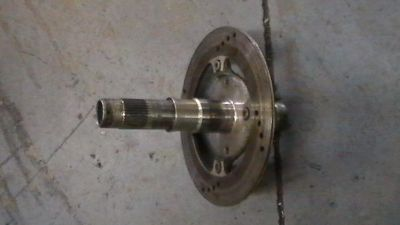 Sell Ducati 748 916 996 Rear Rotor & Axle Shaft, Free Shipping!! motorcycle in Daytona Beach, Florida, US, for US $75.00