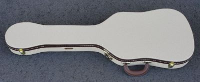 Fender TELECASTER THERMOMETER CASE - Blond Tolex W/ Green Poodle Interior - BRAND NEW