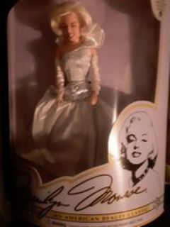 silver sizzle marilyn barbie collectors