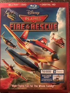 Blu-Ray/dvd Planes Fire and Rescue