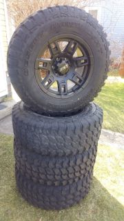 285 70 17, 17x9 wheels and tires