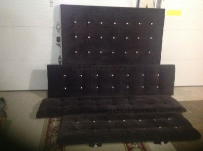 Hand made bed queen size