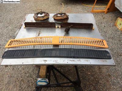 '77 Front Vent Parts & Headlight Parts