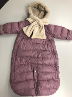 7 A.M. Enfant one piece snowsuit bunting. Size 6-12 months. Like new. $20