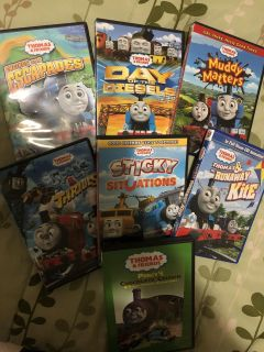 Thomas & Friends DVD collection (7)