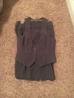New York & Co pencil Skirt and Vest