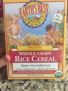 Baby rice cereal new