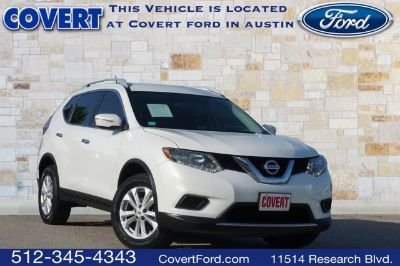 2014 Nissan Rogue S (Moonlight White)