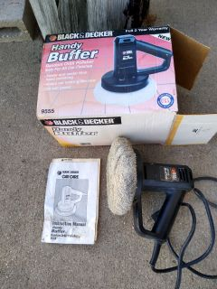 Black & Decker Handy Buffer 120V