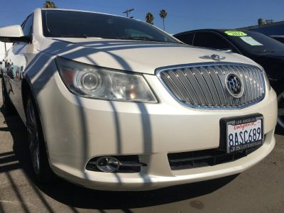 2011 BUICK LACROSSE CXL SEDAN! PEARL WHITE! BEAUTY INSIDE OUT! $1,500 DRIVE OFF!