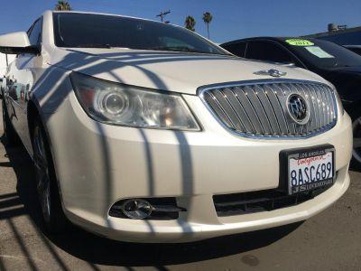 2011 BUICK LACROSSE CXL SEDAN! PEARL WHITE! BEAUTY INSIDE OUT! $1,500 DRIVE OFF!