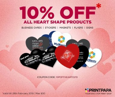 10% Off on Heart-Shaped Products