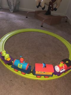 B. Brand Magnetic train track