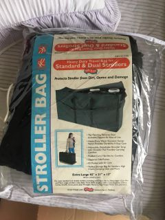 Heavy Duty Travel Bag for Standard & Dual Strollers (JL CHILDRESS brand)