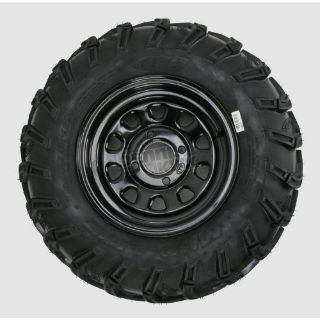 Sell POLARIS ATV MUDLITE TIRES 25 INCH 12 INCH BLACK WHEELS motorcycle in Northern Cambria, Pennsylvania, United States, for US $499.00