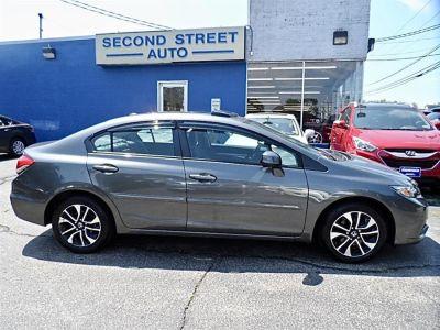 2013 Honda Civic EX-L (Gray)