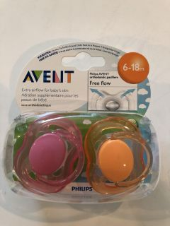 Avent pacifiers for 6-18 months