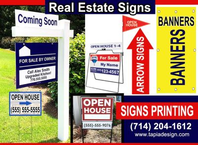 REAL ESTATE SIGNS PRINTING