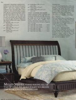 Beautiful Queen Sleigh Bed - Horchow