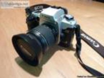 Canon EOS ELAN IIe mm SLR camera with -mm lens - Price: $